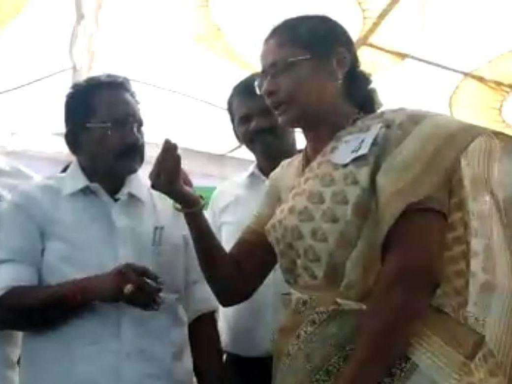 'CAA சட்டத்தை ஏன் ஆதரித்தீர்கள்?' : இஸ்லாமியப் பெண் கேட்ட கேள்வியால், திணறிப் போன செல்லூர் ராஜூ(Video)