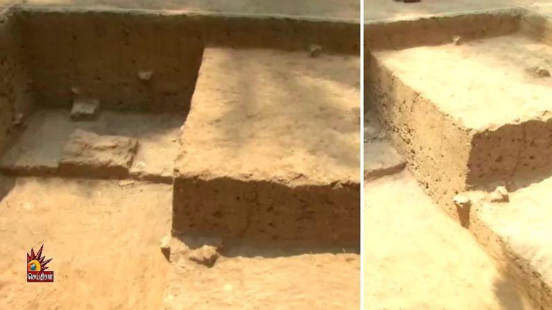 கீழடியில் 2,600 ஆண்டுகளுக்கு முற்பட்ட 2 செங்கல் சுவர்கள் கண்டுபிடிப்பு : நாகரீகத்துடன் வாழ்ந்த தமிழர்கள்!