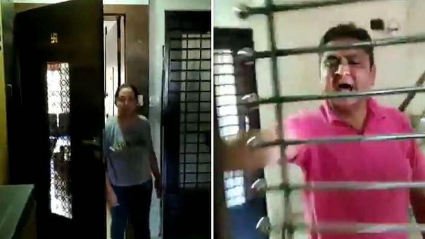 """""""கொரோனாவை பரப்பி விடுவாய்; இங்கு வராதே""""- குஜராத்தில் பெண் மருத்துவருக்கு அண்டை வீட்டார் மிரட்டல்! (Video)"""