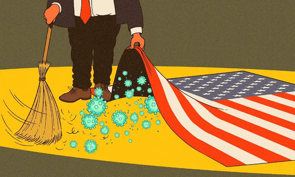 """""""மூன்றே நாளில் 3,909 பேர் பலி - மொத்தம் 16,697 பேர் உயிரிழப்பு"""" : மீளமுடியாமல் தவிக்கும் அமெரிக்கா!"""
