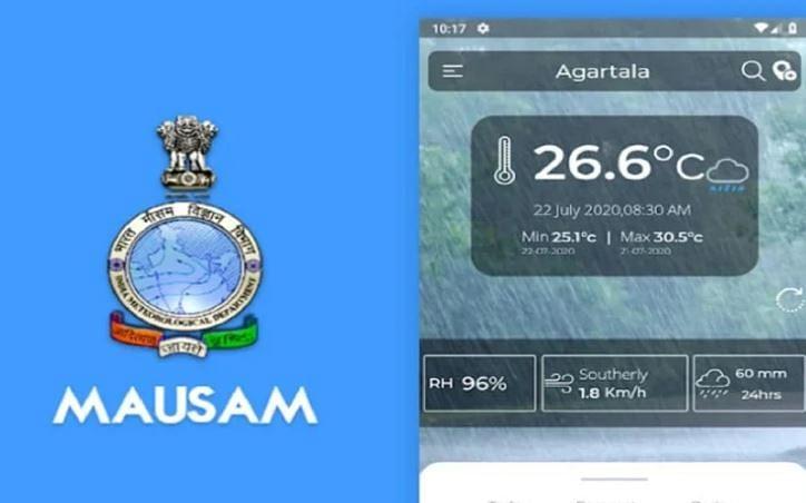 மவுசம் வானிலை மொபைல் ஆப். ( MAUSAM Mobile app for weather)