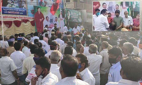 கொரோனா தடுப்பு நடவடிக்கைகளை பின்பற்றாத அமைச்சர்கள்.. அறிவுரை வழங்கிய சென்னை ஐகோர்ட்! #CoronaCrisis