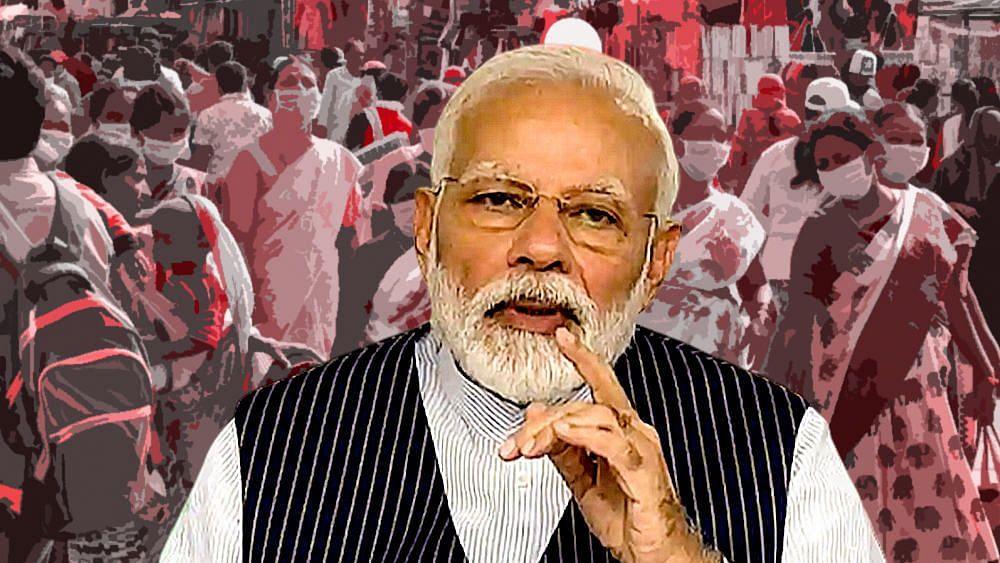 """""""இந்தியாவில் ஒரே நாளில் 95,735 பேர் பாதிப்பு; 1,172 பேர் பலி"""" : மோடி அரசின் தடுப்பு நடவடிக்கை என்ன ஆனது?"""