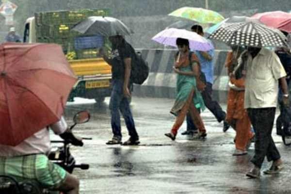 அடுத்த 2 நாட்களுக்கு சென்னை உட்பட 15 மாவட்டங்களில் இடியுடன் கூடிய மிதமான மழை பெய்யக்கூடும் - வானிலை தகவல்