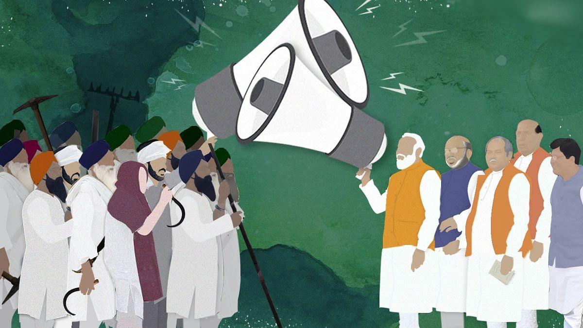 """""""டெல்லி விவசாயிகள் போராட்டத்திற்கு பா.ஜ.க கூட்டணி கட்சிகள் ஆதரவு"""" : நெருக்கடியை சந்திக்கும் மோடி அரசு !"""