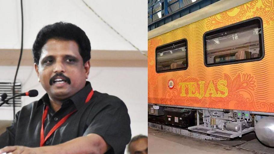 """""""தேஜஸ் ரயில் மீண்டும் இயக்கப்படும் - மக்களின் குரலுக்கு கிடைத்த மாபெரும் வெற்றி"""" : மதுரை MP கருத்து!"""