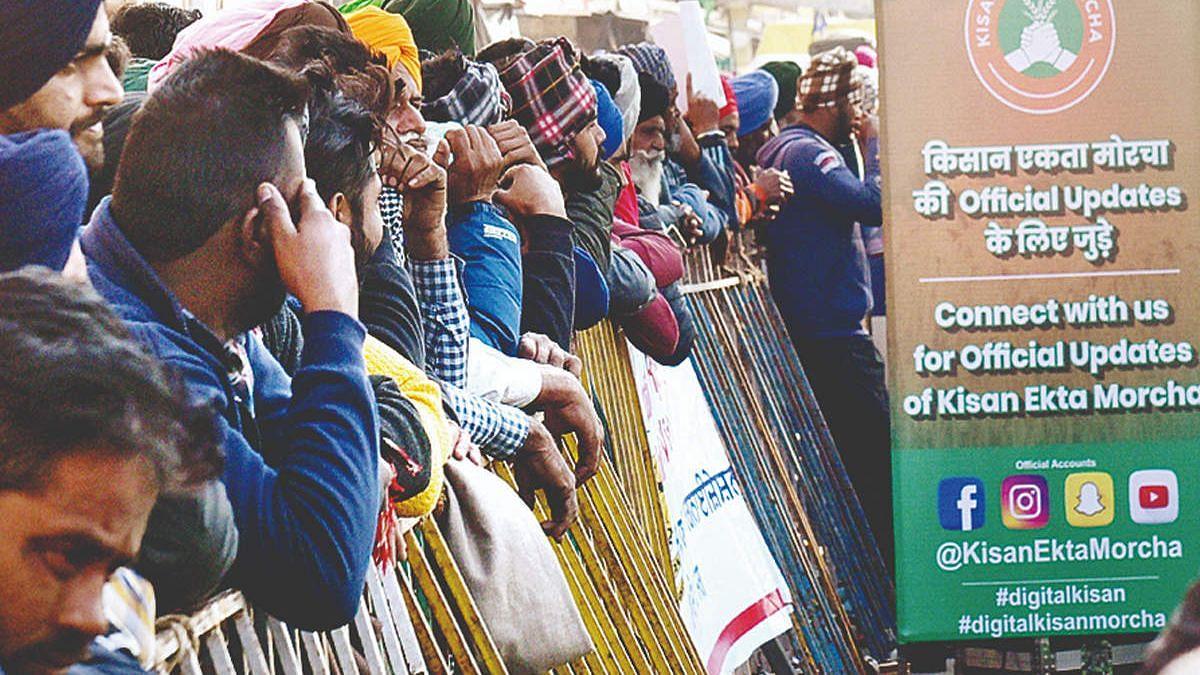 பாஜகவின் பொய் செய்திகளுக்கு பதிலடி கொடுக்க சமூக வலைதளங்களிலும் களமிறங்கிய விவசாயிகள்!