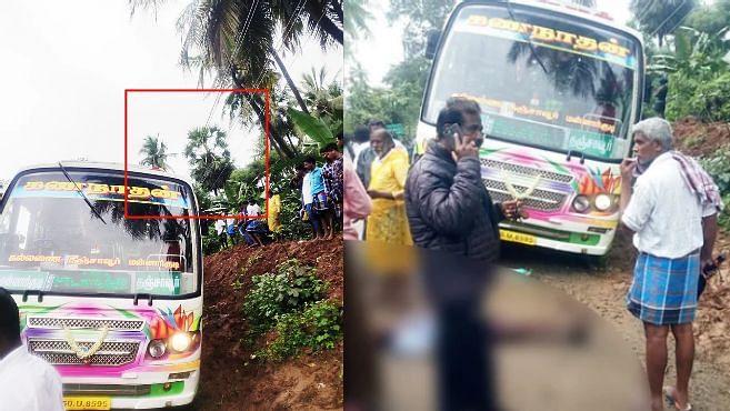 """பேருந்தில் மின்சாரக் கம்பி உரசி 5 பேர் பலி: """"அ.திமுக அரசின் நிர்வாக சீர்கேட்டால் விபத்து"""" - நடந்தது என்ன?"""