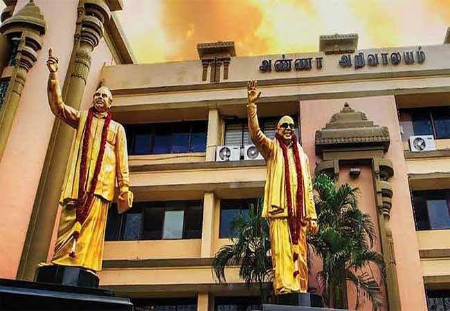 """""""தி.மு.க எம்.பி.க்கள் இதுவரை சாதித்தது என்ன?"""" - முதல்வர் பழனிசாமிக்கு எம்.பிக்கள் கூட்டத்தில் பதிலடி!"""