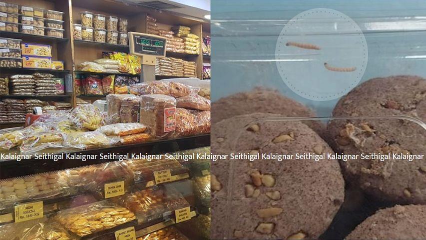 சென்னையில் பிரியாணி, பிஸ்கட் பாக்கெட்களில் புழு : மெத்தனத்தில் உணவு பாதுகாப்புத்துறை - பதட்டத்தில் மக்கள்