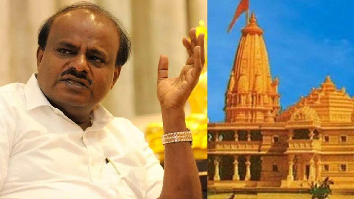 """""""ராமர் கோவிலுக்கு நிதி வழங்காதவர்கள் வீடுகளில் குறியீடு"""" : குமாரசாமி வீடுபுகுந்து மிரட்டல் விடுத்த RSS !"""