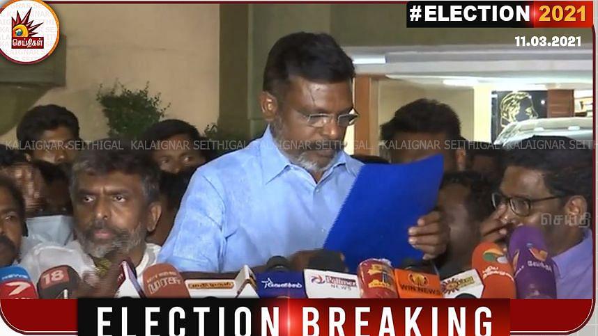 தி.மு.க கூட்டணியில் வி.சி.க போட்டியிடும் 6 தொகுதிகள் - அதிகாரப்பூர்வ அறிவிப்பு! #Election2021