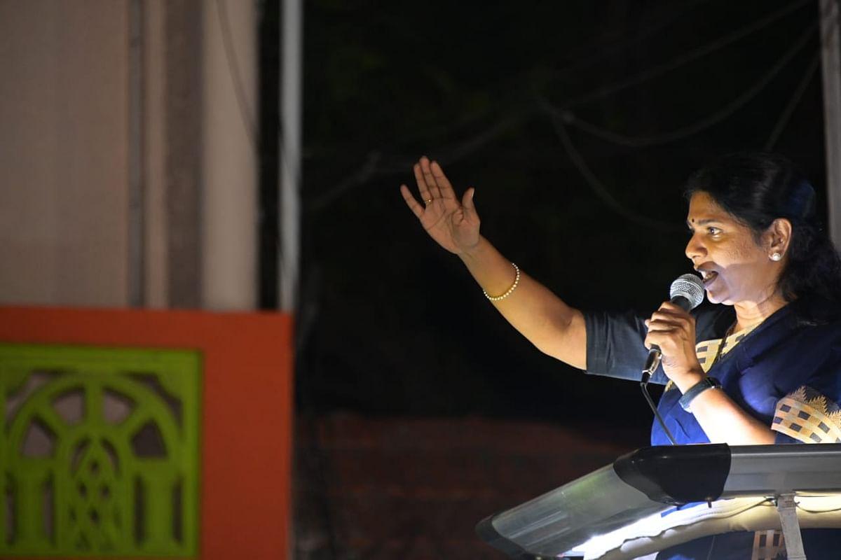 """""""தமிழர்களுக்கு மிகப்பெரிய துரோகம் செய்தவர் எடப்பாடி பழனிச்சாமி"""" : கனிமொழி MP விளாசல்!"""