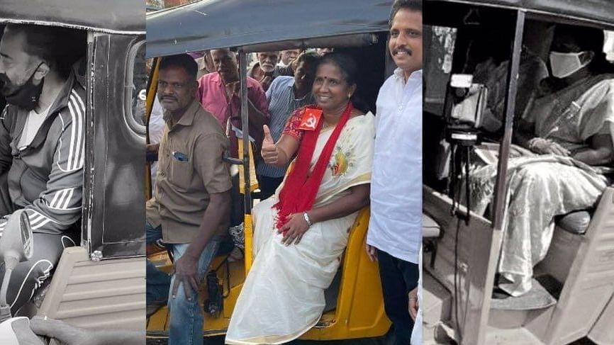 கமல், வானதிக்கு ஆட்டோ என்பது தேர்தல் ஸ்டண்ட்... இந்த வேட்பாளருக்கு அதுதான் வாழ்வாதாரம்!