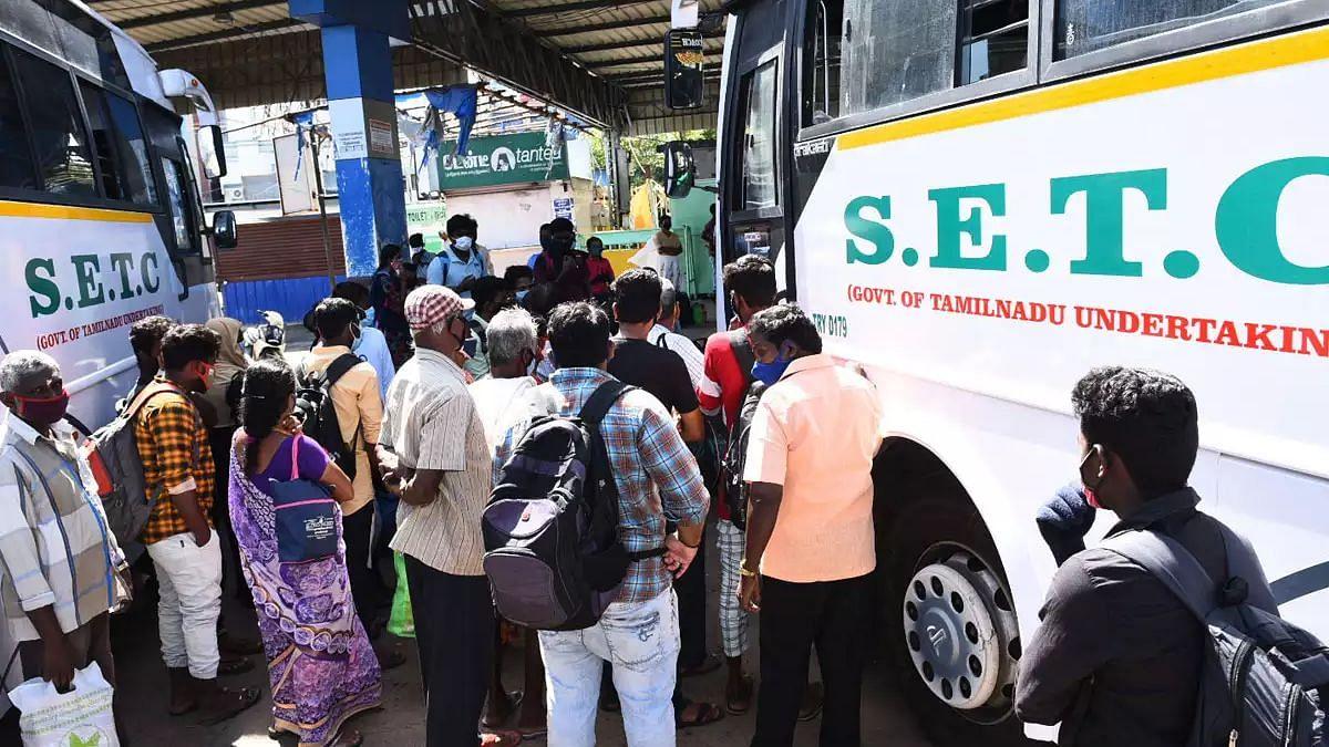 இரவு ஊரடங்கு அமல்: சென்னை - இதர மாவட்டங்களுக்கான கடைசி பேருந்து விவரங்கள் இதோ! #CoronaCrisis