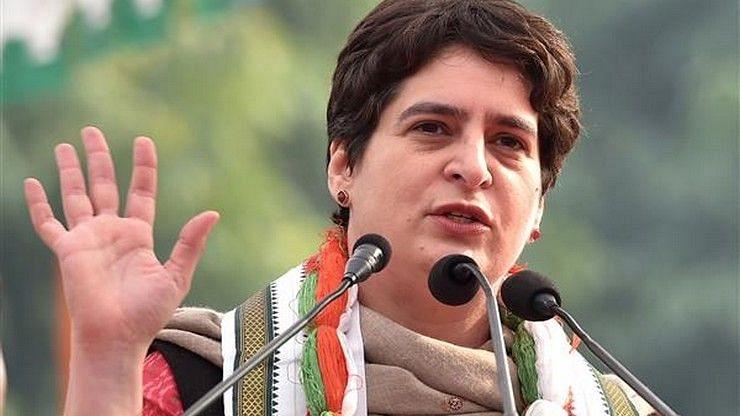 """""""கொரோனா பேரிடரில் மருந்துகளுக்கு GST வரி விதிப்பது கொடூரமானது"""" : மோடி அரசு மீது பிரியங்கா காந்தி தாக்கு!"""