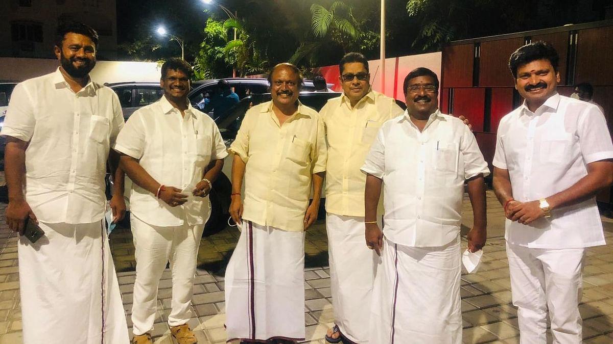 புதுச்சேரி தி.மு.க., சட்டமன்ற உறுப்பினர்கள்.