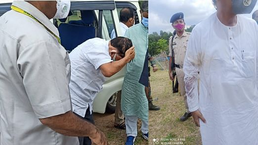"""""""முன்னாள் முதல்வர் மீது பா.ஜ.க-வினர் தாக்குதல்"""" : திரிபுராவில் கலவரத்தை தூண்டி விடும் மோடி அரசு!"""