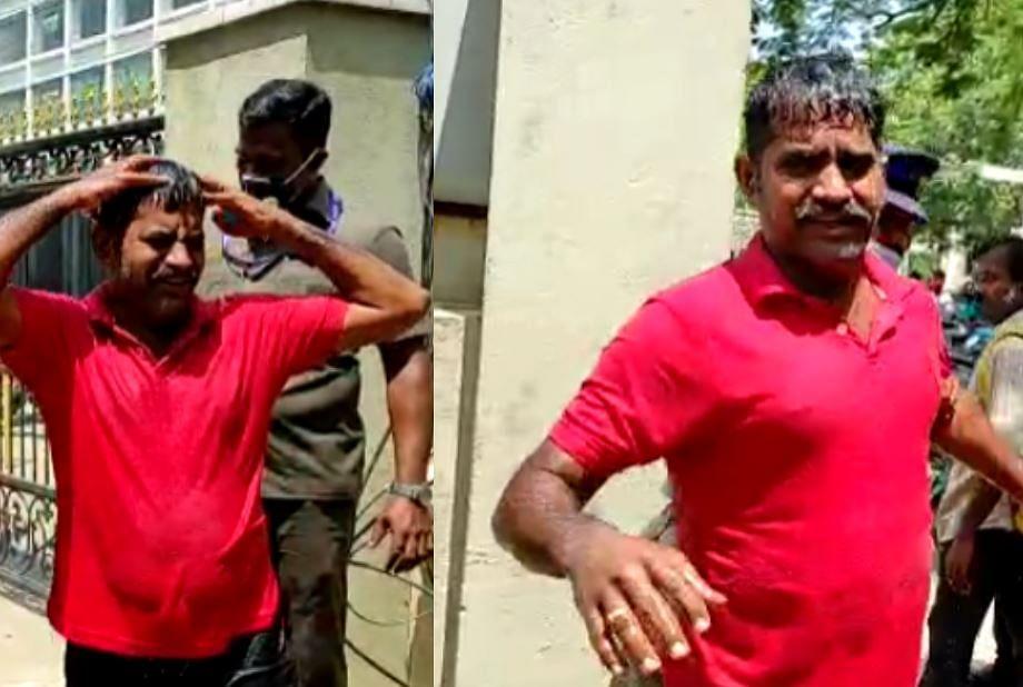 கத்தியை காட்டி மிரட்டி 16 ஏக்கர் நிலத்தை அபகரித்த BJP பிரமுகர்; விரக்தியில் தீக்குளிக்க முயன்ற உரிமையாளர்