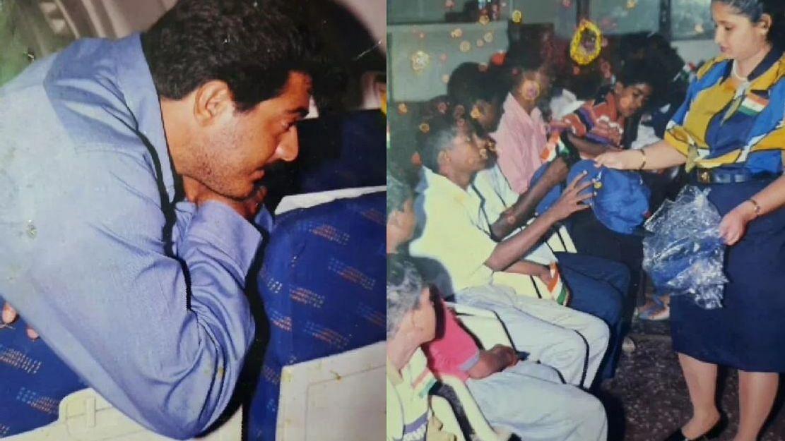சிறுவர்களின் ஆசையை நிறைவேற்றிய அஜித் குமார்: வைரலாகும் 21 ஆண்டுகளுக்கு முந்தைய புகைப்படங்கள்!