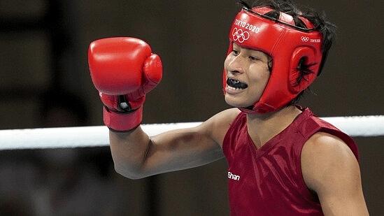 #Olympics - இந்தியாவுக்கு 3வது பதக்கம்..  குத்துச்சண்டை போட்டியில் வெண்கலம் வென்றார் வீராங்கனை லவ்லினா!