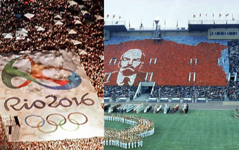 பனிப்போரால் மூண்ட போட்டி ஒலிம்பிக்; ரியோ ஒலிம்பிக் ஒரு ரீவைன்ட் ! - Olympic Updates