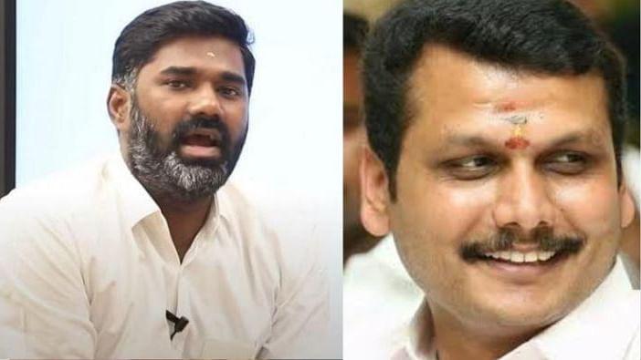 ஒய்ட்போர்டு மாரிதாஸுக்கு 'பொளேர்' பதிலடி கொடுத்த அமைச்சர் செந்தில்பாலாஜி!
