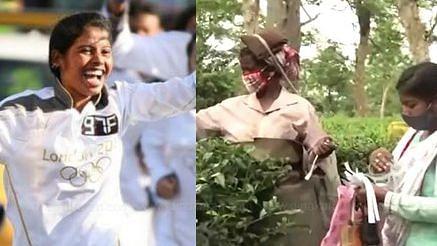 """""""அன்று தேசிய கொடி ஏந்தியவர்... இன்று தினக்கூலி தொழிலாளி"""" : ஒலிம்பிக் வீராங்கனையின் அவலம்!"""