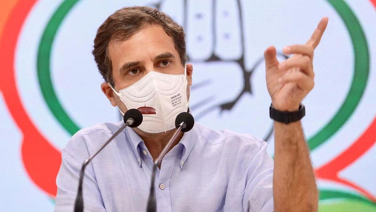 "LPG விலை: ""இந்தியாவின் GDP-ஐ விட மோடியின் GDPதான் உயர்ந்திருக்கிறது"" - ராகுல் காந்தி கடும் சாடல்!"