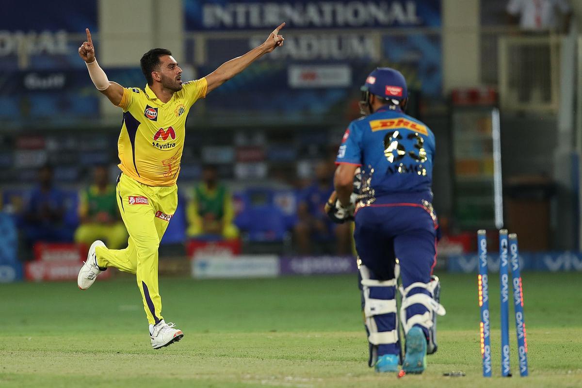 IPL 2021 - சரிவிலிருந்து மீட்ட ருதுராஜ்: சரணடைந்த மும்பை இந்தியன்ஸ்; முதல் வெற்றியை பெற்றது CSK!