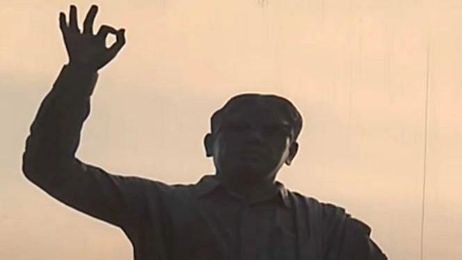மீண்டும் அண்ணா சாலையில் எழுகிறார் தமிழினத் தலைவர் : 1981ல் சினிமா காட்சியில் இடம்பெற்ற கலைஞர் சிலை!