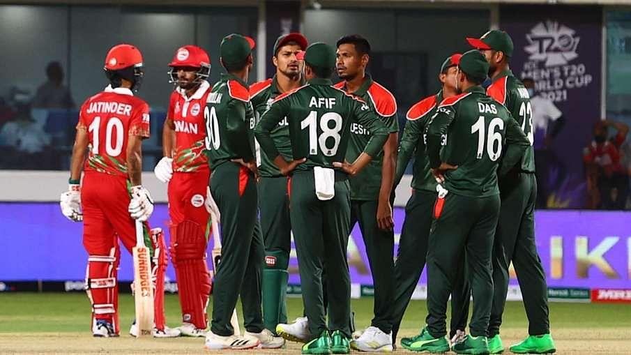 T20 உலகக்கோப்பை - ஓமனை வீழ்த்திய வங்கதேசம்.. பரபரப்பான கட்டத்தில் தகுதிச்சுற்று போட்டிகள் !
