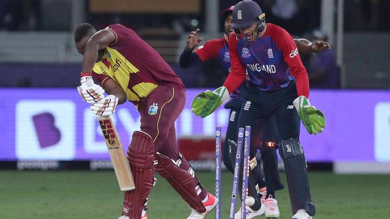T20 உலகக் கோப்பை: 55 ரன்களில் சுருண்ட வெஸ்ட் இண்டீஸ்...பழி தீர்த்த இங்கிலாந்து!