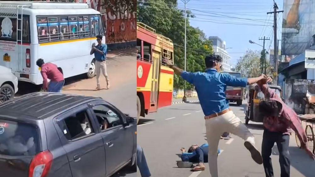 இது 'தெறி Lite' : விஜய் பட சண்டைக் காட்சியை தத்ரூபமாக Recreate செய்த திருவனந்தபுரம் பாய்ஸ்! (Video)
