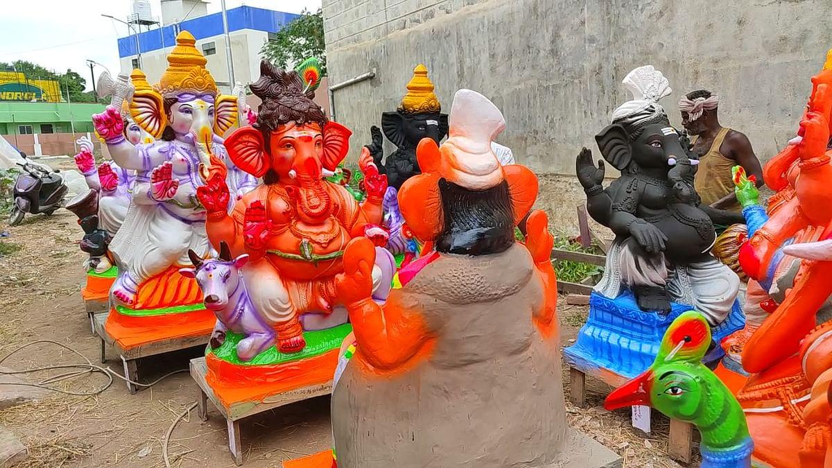 விநாயகர் சிலைகளை நிறுவ பொது அமைப்புகளுக்குத் தடை!