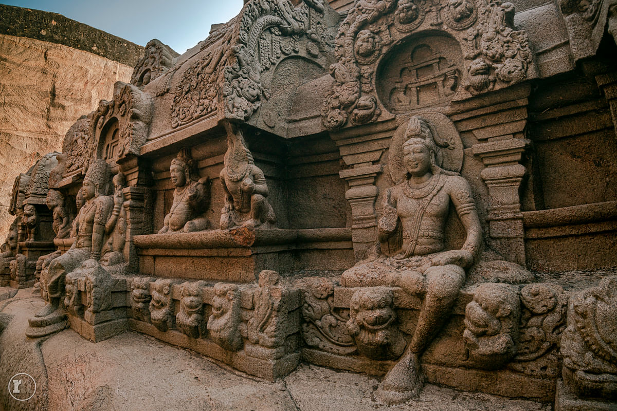 தொல்லியல் பார்வை:  கழுகுமலை வெட்டுவான் கோயில்