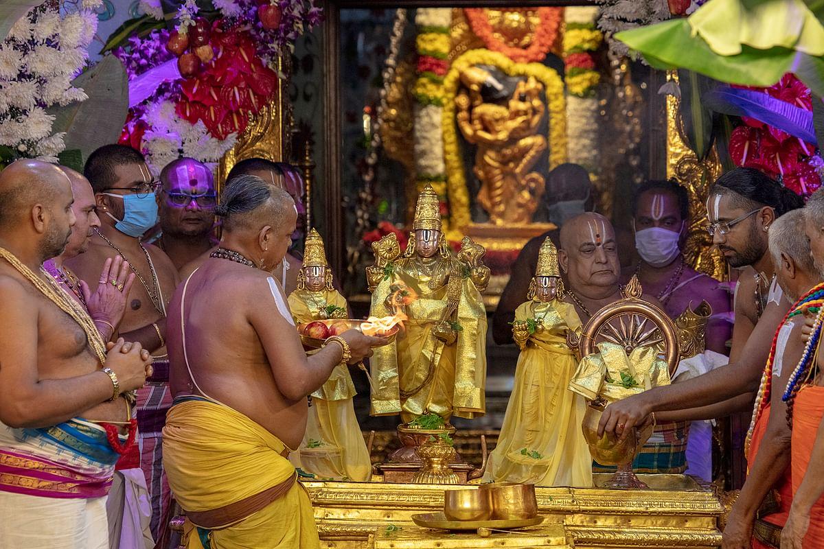 திருப்பதி பிரம்மோற்சவம்: தீர்த்தவாரி நிகழ்ச்சியுடன் நிறைவு