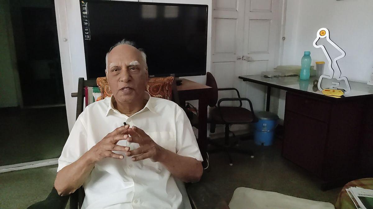 'எம்ஜிஆர் அப்ப எங்க வீட்லதான் குடியிருந்தார்!'