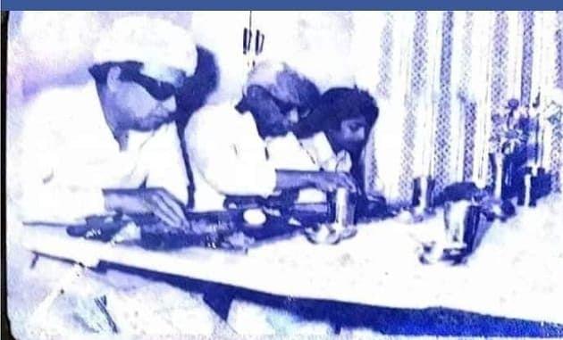 எம்ஜிஆருடன் ஆர்.வி.எஸ்.