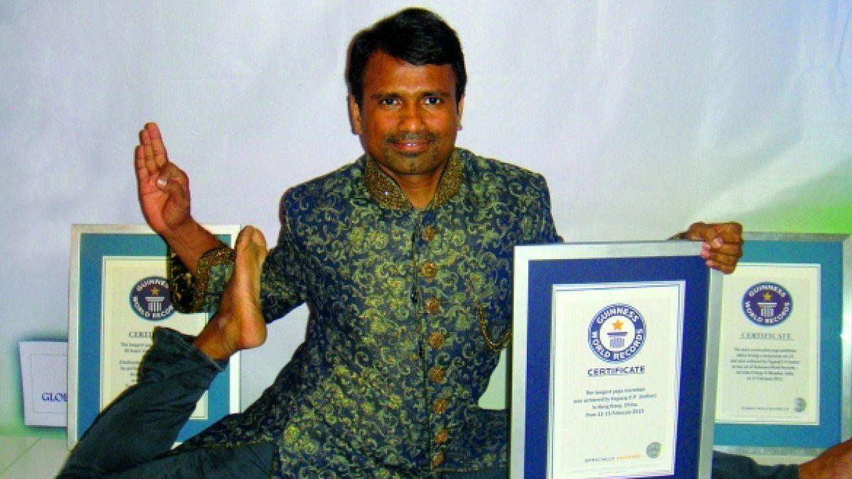 'யோகா' கின்னஸ் சாதனையாளர் பாலியல் வன்புணர்வு வழக்கில் கைது