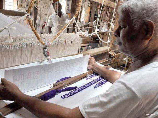 2 கோடிப் புள்ளிகள்... 1330 குறட்பாக்கள்… தறியில் குறள் சமைக்கும் சின்னுசாமி!