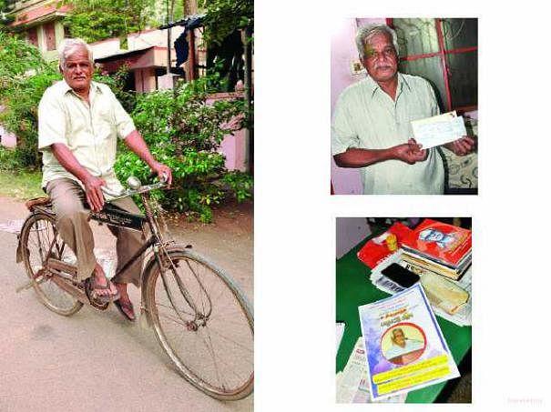 70 வயது தோழர் திருமூர்த்தியும்... 60 வயது ஹெர்குலஸ் சைக்கிளும்..!