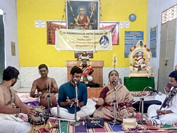 சமயம் வளர்த்த சான்றோர் 29: நாதஜோதி முத்துசுவாமி தீட்சிதர்