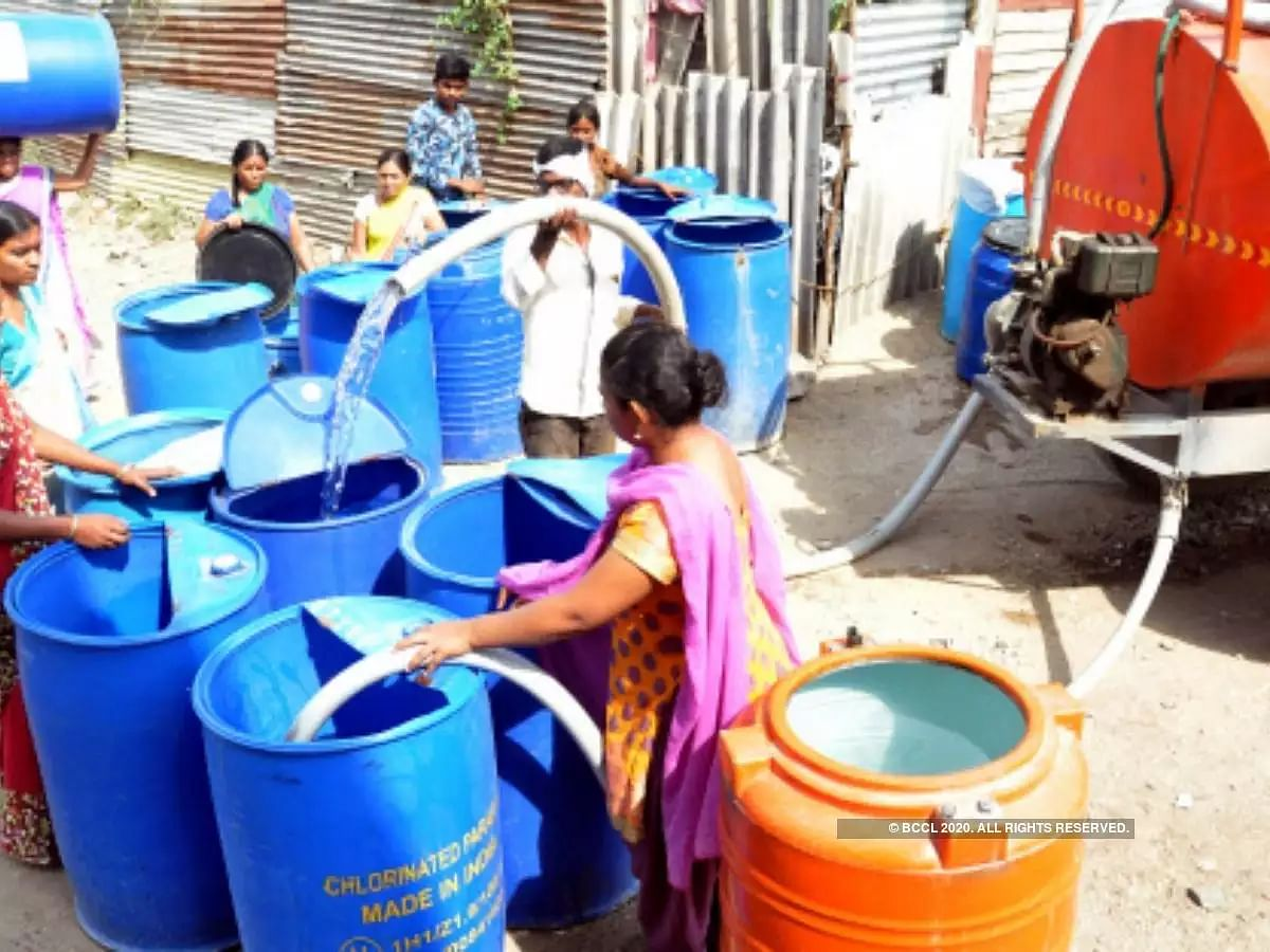 Coronavirus: Latur's water supply gap reduced due to lockdown