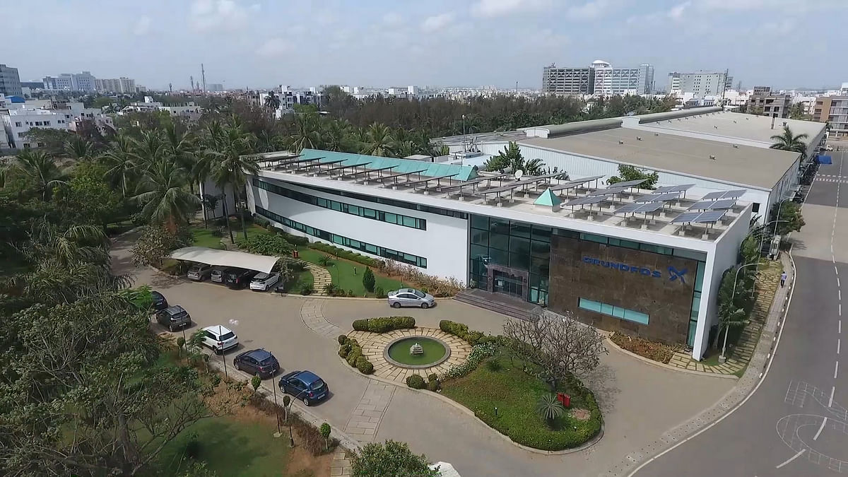 Grundfos India's facility receives the LEED Platinum certification
