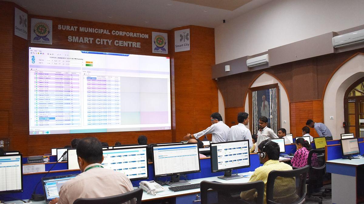Surat smart city control center