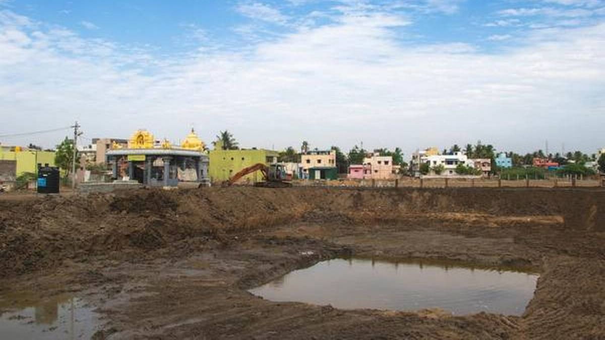Restoration of water bodies commences in Chennai ahead of monsoons