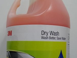 3M Dry Wash helps in water conservation