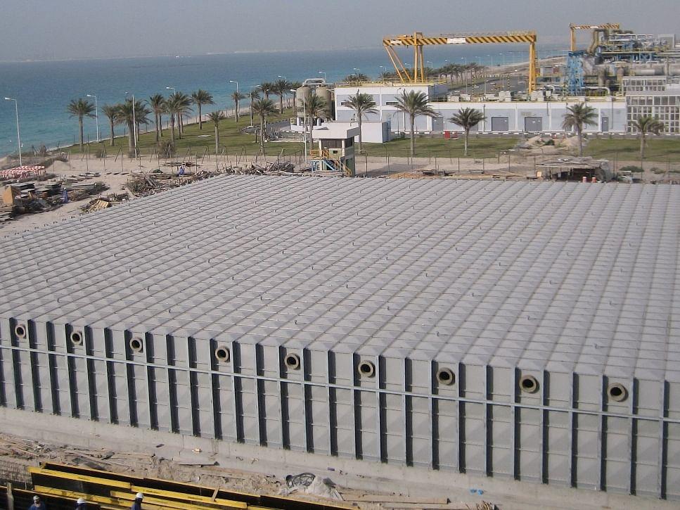 FRP Panel Type Water Tank