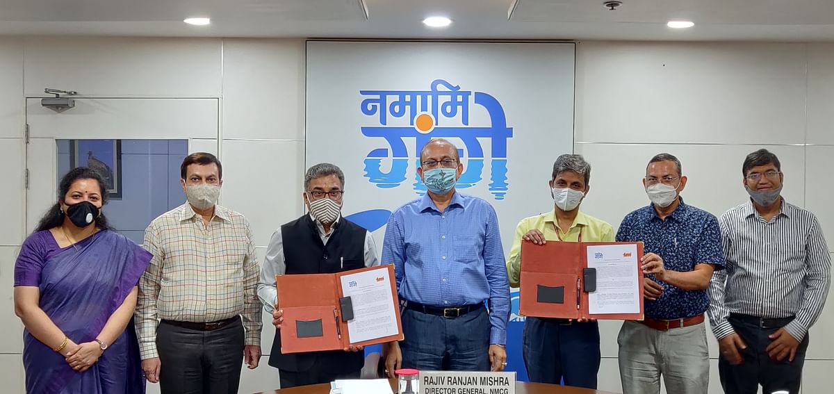 TERI signs MoU with National Mission for Clean Ganga (NMCG)